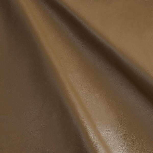 Lammnappa 206 soft messing, Lammnappa beige, Echtleder, Fauck Lederhandel Berlin