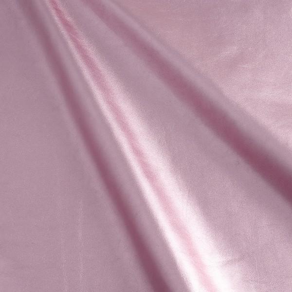 Lammnappa folie rosa, Lammnappa lila pink rosa, metallic, Echtleder, Fauck Lederhandel Berlin