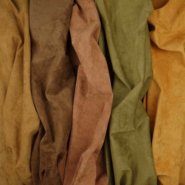 Porcvelours exceptional items gamut of colours: earthy tone