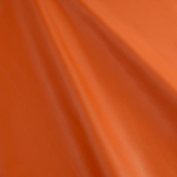 Lammnappa 206 soft orange, Lammnappa orange, Echtleder, Fauck Lederhandel Berlin