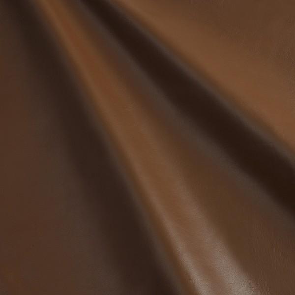 Lammnappa 206 soft lisse cognac, Lammnappa braun, Echtleder, Fauck Lederhandel Berlin